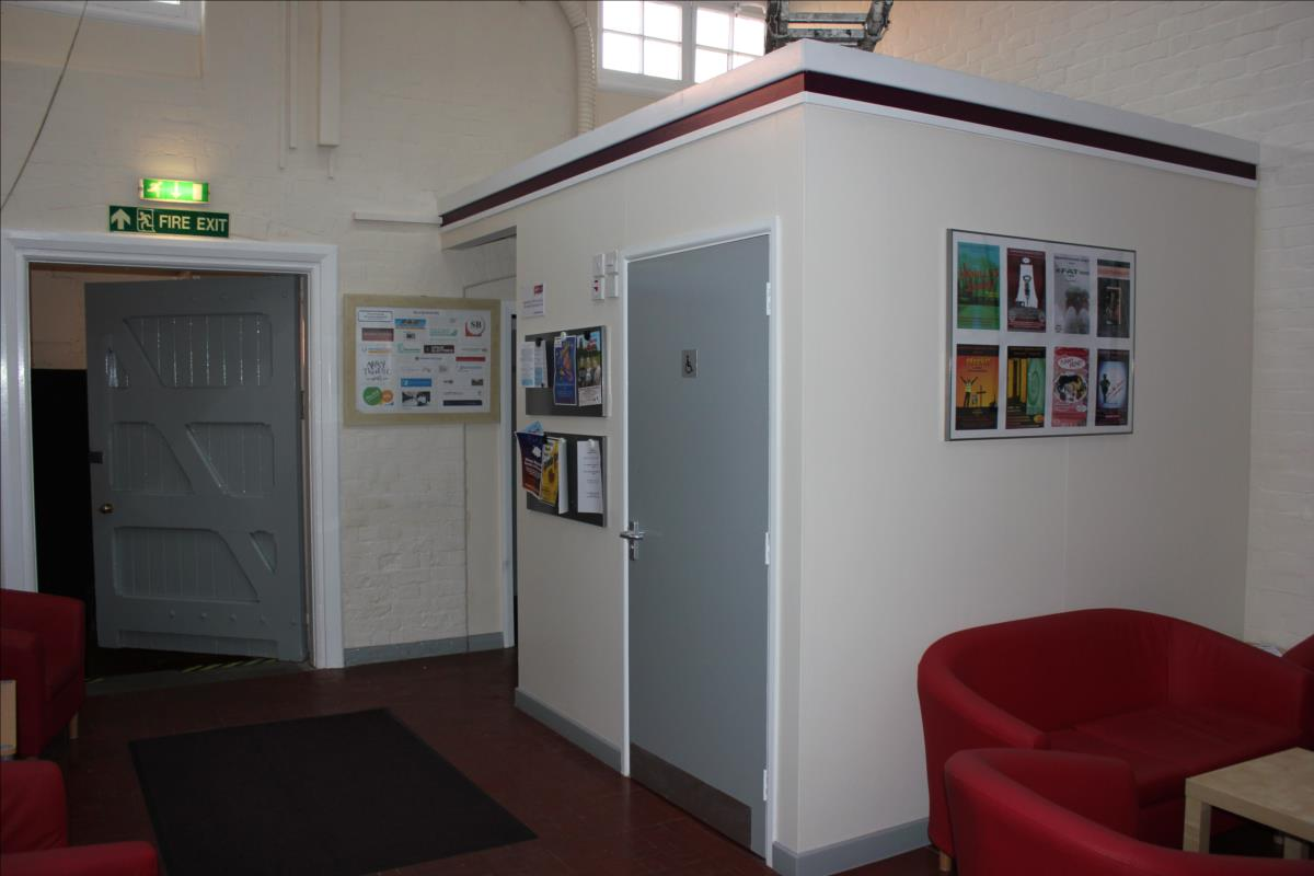 Disabled toilet facilities are available
