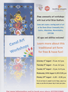 Canal Arts Workshops